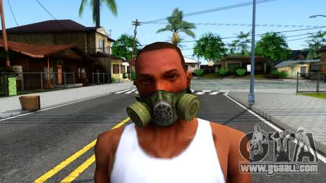 Gas Mask From S.T.A.L.K.E.R. Clear Sky for GTA San Andreas third screenshot