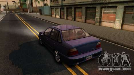 Daewoo Cielo 2001 for GTA San Andreas back left view