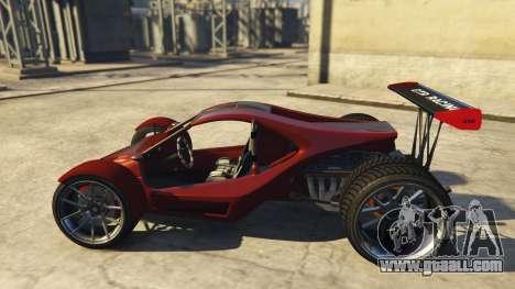 GTA 5 Raptor Car v2 left side view