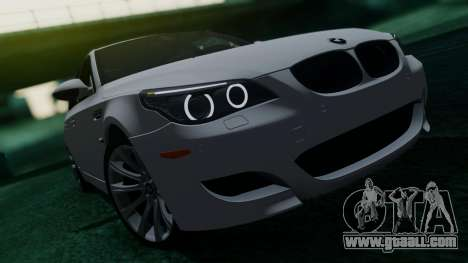 BMW M5 E60 for GTA San Andreas side view