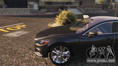 GTA 5 Mazda 6 2016 rear right side view