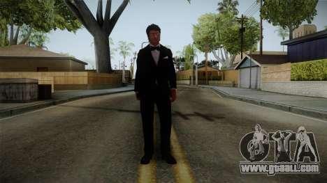 Dead Rising 3 - Nick in a Tuxedo for GTA San Andreas second screenshot