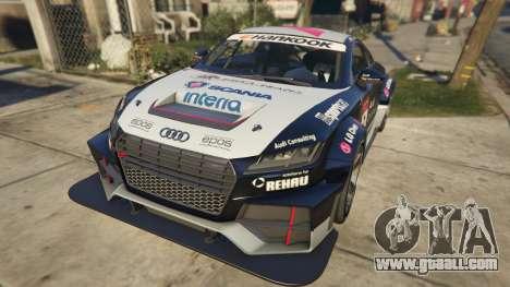 GTA 5 Audi TT cup 2015 back view