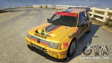 Peugeot 205 Turbo 16 for GTA 5