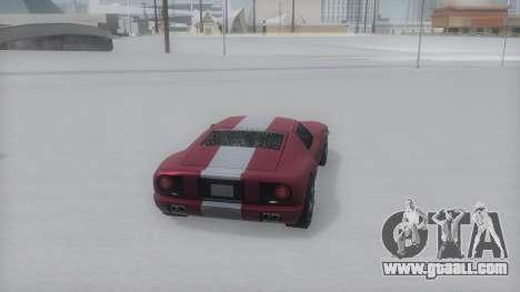 Bullet Winter IVF for GTA San Andreas left view