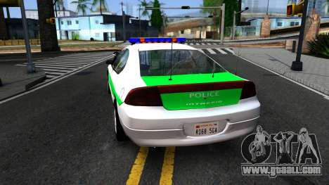 Dodge Intrepid German Police 2003 for GTA San Andreas back left view