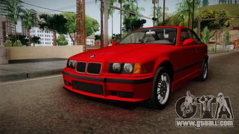 BMW 328i E36 Coupe for GTA San Andreas right view