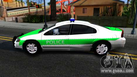 Dodge Intrepid German Police 2003 for GTA San Andreas left view