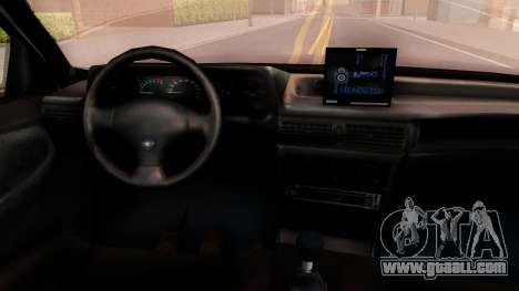 Daewoo Cielo 2001 for GTA San Andreas inner view