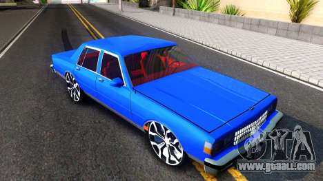 Chevrolet Caprice 1987 Tuning for GTA San Andreas