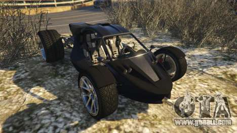 GTA 5 Raptor Car v2 back view