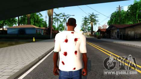 White I am Fine T-Shirt for GTA San Andreas