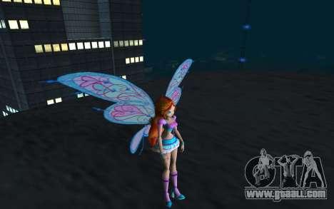 Bloom Believix from Winx Club Rockstars for GTA San Andreas