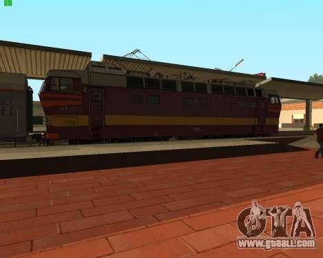 Passenger locomotive CHS4t-521 for GTA San Andreas left view