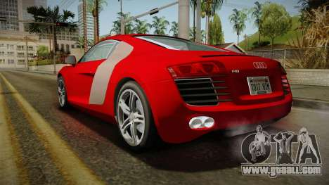 Audi R8 Coupe 4.2 FSI quattro EU-Spec 2008 YCH2 for GTA San Andreas left view