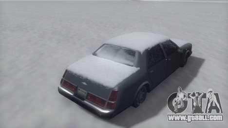Washington Winter IVF for GTA San Andreas right view