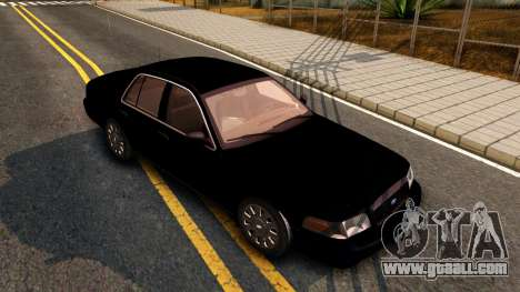 Ford Crown Victoria Detective 2008 for GTA San Andreas left view