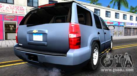 Chevy Tahoe Metro Police Unmarked 2012 for GTA San Andreas right view
