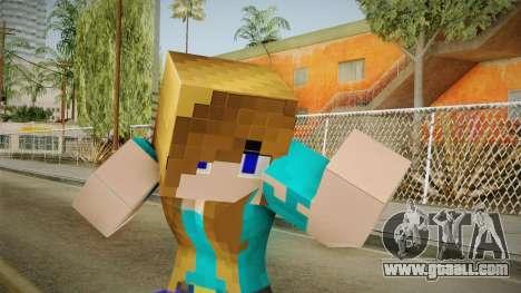 Minecraft - Stephanie for GTA San Andreas