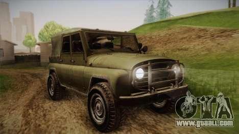 УАЗ-3151 CoD4 MW Remastered for GTA San Andreas