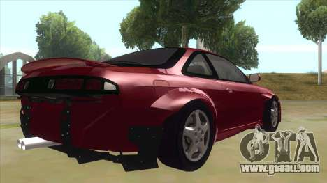 Nissan Silvia S14 Tuned for GTA San Andreas right view