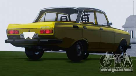 Moskvich 2140 GVR for GTA San Andreas back view