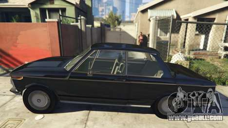 GTA 5 BMW 2002 72 left side view