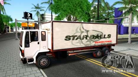 DFT-30 Box Truck for GTA San Andreas inner view