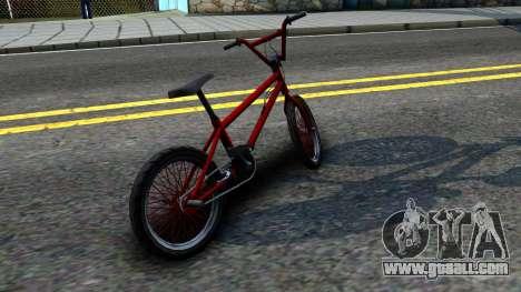 BMX Enhance for GTA San Andreas back left view