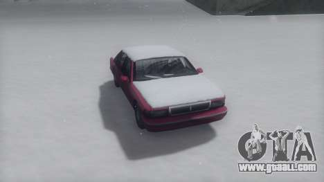 Premier Winter IVF for GTA San Andreas back left view