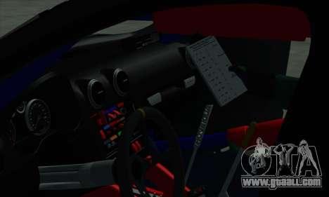 Audi RS3 Sportback Rally WRC for GTA San Andreas wheels