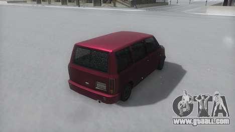 Moonbeam Winter IVF for GTA San Andreas