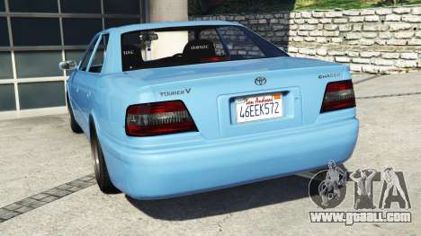 GTA 5 Toyota Chaser (JZX100) v1.1 [add-on] rear left side view
