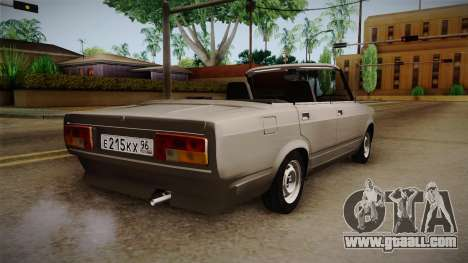 VAZ 2105 Convertible for GTA San Andreas left view