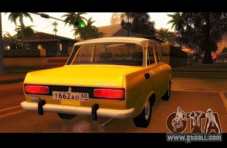 Moskvich 2140 GVR v1 for GTA San Andreas right view
