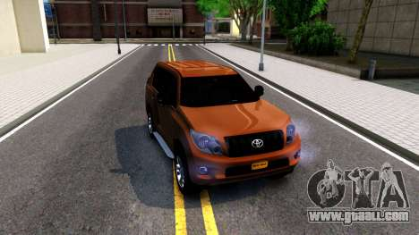 Toyota Land Cruiser Prado for GTA San Andreas left view