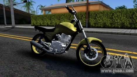 Honda Titan 150 Stunt for GTA San Andreas left view