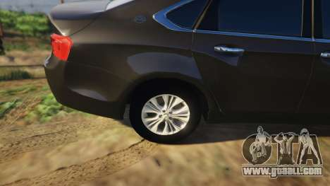 GTA 5 Chevrolet Impala 2015 right side view