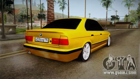 BMW 5-er E34 for GTA San Andreas