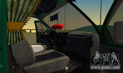 Gazelle Farmer v2 for GTA San Andreas side view