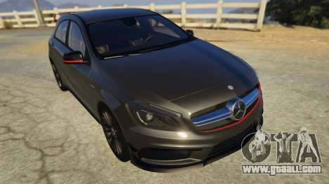 GTA 5 Mercedes-Benz A45 AMG Edition back view