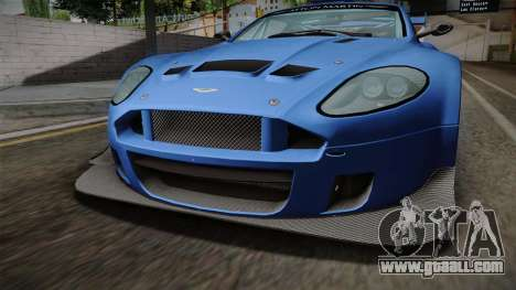 Aston Martin Racing DBRS9 GT3 2006 v1.0.6 for GTA San Andreas inner view