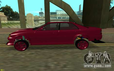 Toyota Chaser Sport for GTA San Andreas left view