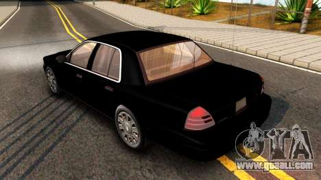 Ford Crown Victoria Detective 2008 for GTA San Andreas right view