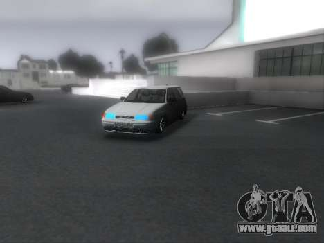 VAZ 2111 Audio for GTA San Andreas right view