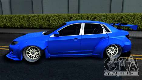 Subaru WRX STi Widebody for GTA San Andreas left view