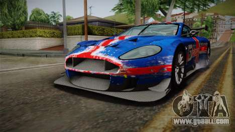 Aston Martin Racing DBRS9 GT3 2006 v1.0.6 for GTA San Andreas wheels