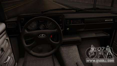 VAZ 2105 Convertible for GTA San Andreas inner view