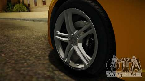 Audi R8 Coupe 4.2 FSI quattro EU-Spec 2008 Dirt for GTA San Andreas back view
