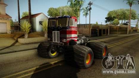 Peterbilt Monster Truck for GTA San Andreas